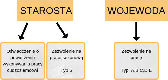 Кто выдает разрешение на работу в Польше