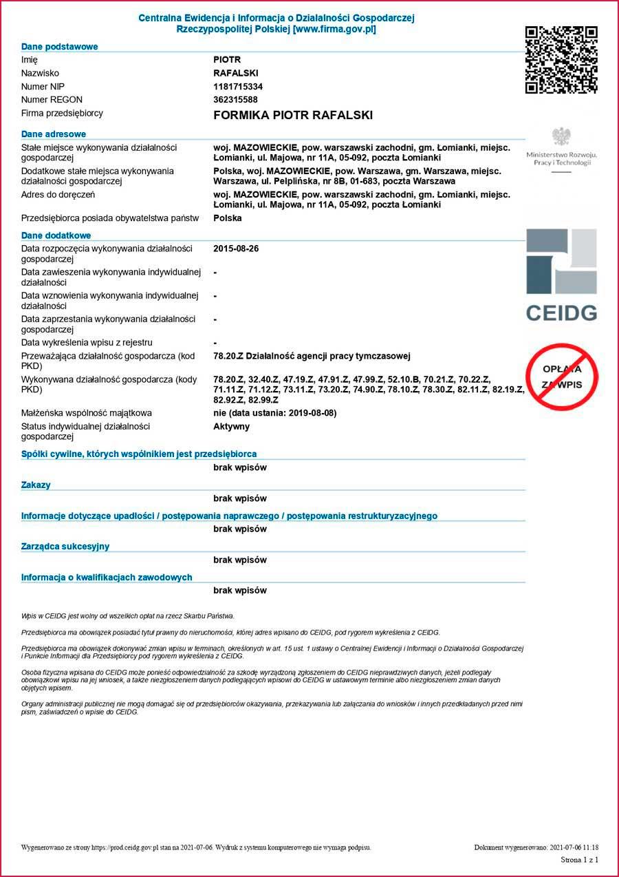 Проверка агентства по трудоустройству в Польше